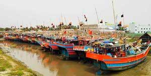 Boat at Digha